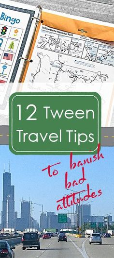 Great ideas! How to save everyone's sanity on your next road trip with your favorite tweens.