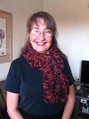 Fun knitted scarf Bobbin Lace, Popcorn, Tatting, Knit Crochet, Projects, Fun, Gifts, Ideas, Fashion