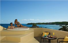 Our Preferred Club Junior Suite With Jacuzzi Terrace At Dreams Huatulco Resort Spa