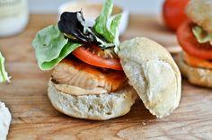 Salmon BLT Slider #salmon