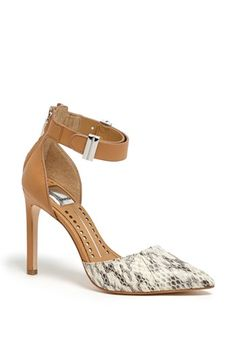 Love this dressy pump with ankle strap
