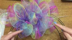 Wonderful Wreaths: How To Make A Poof/Pouf Style Wreath With Dollar Tree...
