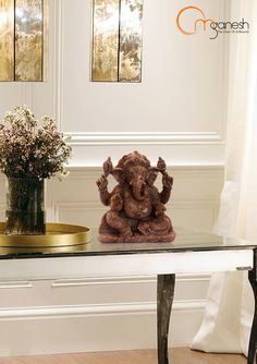 Cat's Eye Om Ganesh brings sanctity and dedication into home spaces for you and the family.#Ganesha #Brings #Sancity #Dedication #HomeDecor #Home #Spaces #Family #Beautiful #Gifting #Auspicious