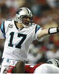 Quarterback Jake Delhomme - Carolina Panthers v Atlanta Falcons