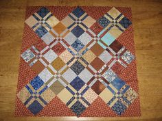 Kate's Quilting (and other arty stuff): More disappearing four patches