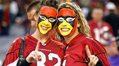 Cardinals Fan Face Paint