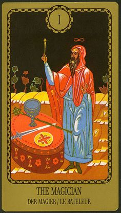 The Magician - Egorov Tarot