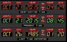 Today is the day Marty McFly went back to the future. October Anytime you are wondering how long we have to wait for Marty, check out this website for a countdown. That said, they really need to busy making those flying cars accessible to the masses. Marty Mcfly, Back To The Future Party, The Future Is Now, October 21 2015, Future Days, Great Scott, Bttf, Flying Car, Back In Time