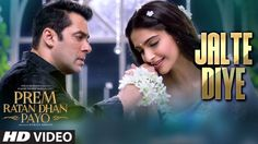 "Presenting ""Jalte Diye"" Full Song with LYRICS from bollywood movie Prem Ratan Dhan Payo starring Salman Khan and Sonam Kapoor in lead roles exclusively on T-. Film Song, Movie Songs, Hit Songs, Mp3 Song, News Songs, Song Lyrics, Movies, Punjabi Comedy, Latest Video Songs"