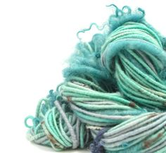 This yarn has a soft drape to it, is fairly dense, and consistent in width…