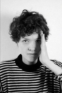 27.Pixie Cuts for Curly Hairs