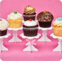 Eu Amo Artesanato: Suporte para cupcake                                                                                                                                                                                 Mais