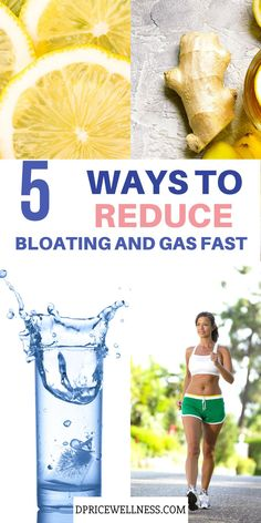 Bloating is the swollen or full feeling you get after you've eaten a meal. Gas usually causes bloating. Learn what you can do to reduce bloating and gas fast.  #bloating #gas