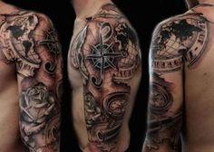 49 Mejores Imágenes De Tatuajes Náuticos