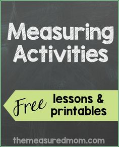 Measuring Activiites-2nd, 1st. grade and Kindergarten and Preschool...Click on a link to get directly to the activity – if you find a collection of themed math, scroll down to find what you're looking for. Preschool: Comparing volume with colored water Egg carton measuring How long is an inch? How many cubes long is each toy animal? Sort sticks by size Teach measuring using yarn Kindergarten: Comparing volume with colored water Egg carton measuring Estimate and measure the...Read More »