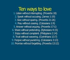 7. Is a big one -- if it truly makes them happy and they are sharing their joy with you, enjoy it as much as they are, if not only to let them know you truly care about them.