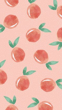 peach wallpaper background
