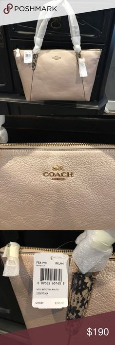 Brand new never used Coach purse. Brand new never used Coach purse. Coach Bags Totes