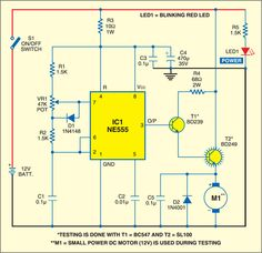 Clap Switch Circuit Electronic Project Using 555 Timer | Electronics ...