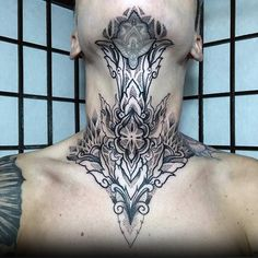 From the chin to the collarbone explore the top 79 best throat tattoos. Discover cool masculine ink design ideas around the jugular. Full Neck Tattoos, Neck Tattoo For Guys, Full Body Tattoo, Body Tattoos, Sleeve Tattoos, Tattoos For Guys, Heart Tattoos, Skull Tattoos, Tattoo Cou