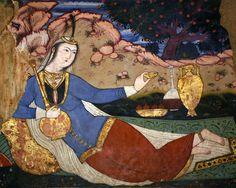 Persian Miniature - Chehel Sotoon - Isfahan