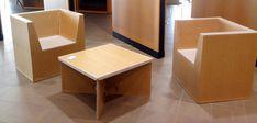 furniture and cardboard