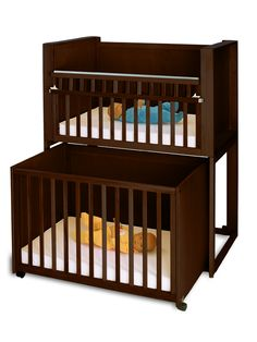 Amazing double cribs for twins bunk bed crib bunk bed for Double decker crib