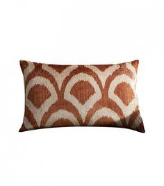 Pottery Barn Carmella Printed Velvet Pillow