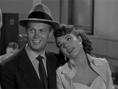 Richard Widmark and Jean Peters