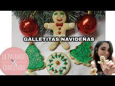 GALLETITAS NAVIDEÑAS SUPER FACILES   LA PASAMOS COMIENDO - YouTube Gingerbread Cookies, Fondant, Tik Tok, Youtube, Desserts, Christmas, San, Food, Cookie Dough