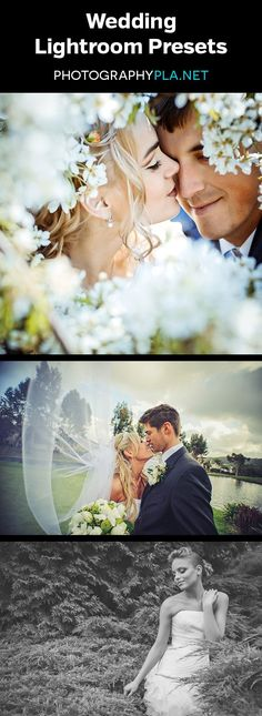 Wedding Lightroom Presets - 25 one click presets plus a large collection of stackable workflow presets