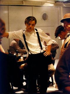 Ohhh Jack Dawson....I'd fall madly in love with you for two ill-fated days anytime!