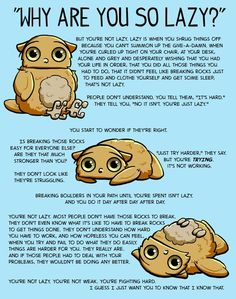 Boggle is worried about you! Boggle is also an owl. Chronic Illness, Chronic Pain, Mental Illness, Chronic Fatigue, Angst Quotes, Vie Motivation, Boggle, After Life, Mental Health Awareness