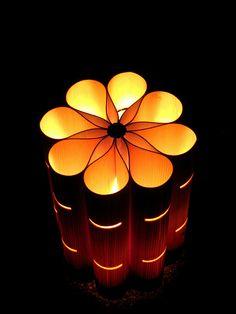 """A Bamboo Light at """"Hanatouro"""""""