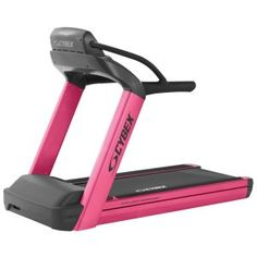 cybex special-edition pink treadmill for breast cancer month