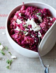 Beet it, just beet it! No one wants to eat without it.