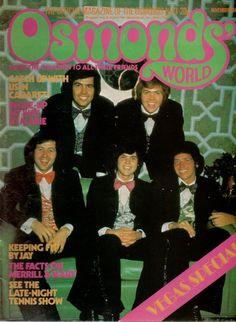 Osmonds World November 1974 Donny Osmond Vegas Special Donny Osmond, Marie Osmond, Btob, Vixx, Merrill Osmond, Jackson, Osmond Family, The Osmonds, I Remember When