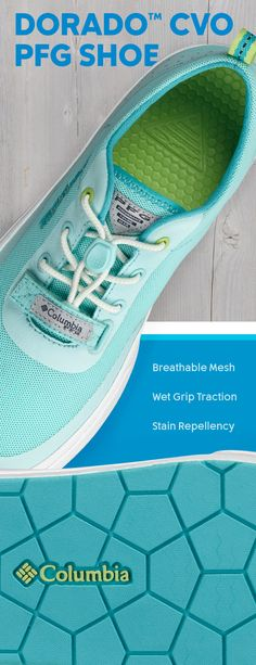 3c7249ca7a0e Our Dorado™ CVO PFG Shoe stands for comfort. With a breathable mesh upper  and