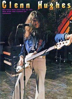 Glenn Hughes, Deep Purple
