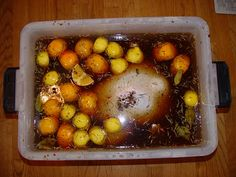 Fried Turkey Brine and how to fry a turkey - Cooking - recipes Thanksgiving Recipes, Holiday Recipes, Thanksgiving 2016, Holiday Meals, Fall Recipes, Yummy Recipes, Yummy Food, Turkey Marinade, Gourmet