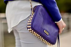 Spiked out in cobalt! For the love of.