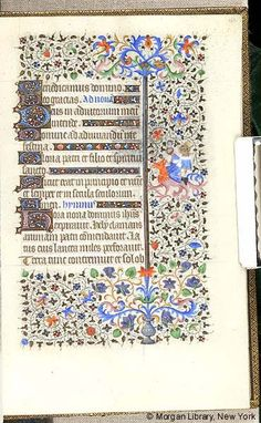 Book of Hours, MS M.453 fol. 122r - Images from Medieval and Renaissance Manuscripts - The Morgan Library & Museum