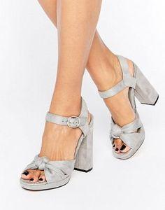 Truffle - Chaussures à plateforme et nœud