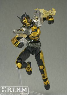 Bandai SIC 53 Kamen Rider THE BEE Super Hero Figure