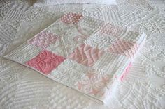 chenille quilt, minky fabric