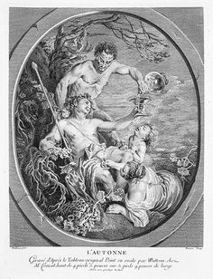 L'Autonne, ca. 1715  Faissar, after Antoine Watteau (French, Valenciennes 1684-1721 Nogent-sur-Marne)  Etching and engraving