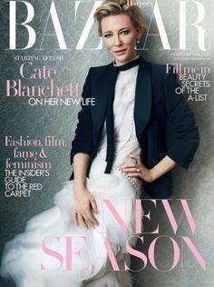 Cate Blanchett for Harper's Bazaar Magazine UK
