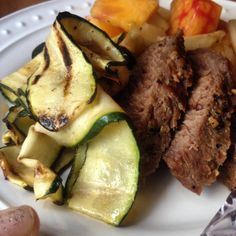 Schmaleo Paleo Ribbon Squash BBQ | Paleoschmaleo Paleo side dishes, #21dsd, primal