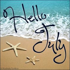 Can't believe It's July already.