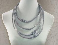 Filzketten - Filzketten Endlosketten - ein Designerstück von CH-FilzKunst bei DaWanda